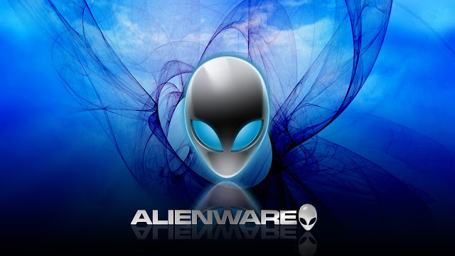 Alienware Computer Blue Ripple HD Wallpaper