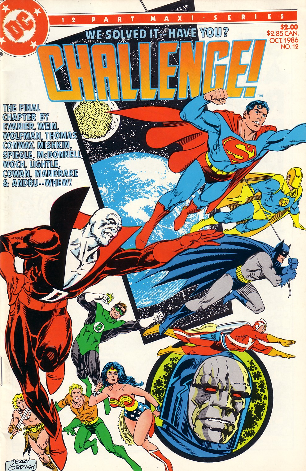 DC Challenge #12 #12 - English 1