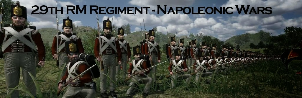 29th RM Regiment - Napoleonic Wars