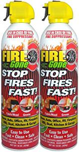 Fire Gone - Stops Fires Fast