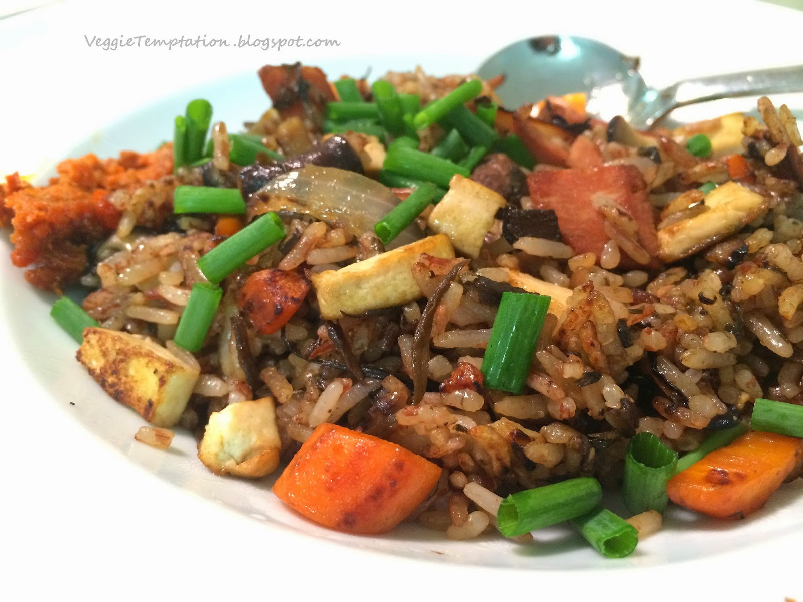 veggie temptation veganvegetarian olive fried rice veganvegetarian olive fried rice ccuart Choice Image