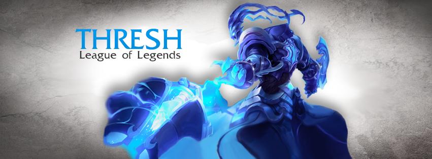 Ảnh bìa facebook Thresh - Cover Facebook Thresh