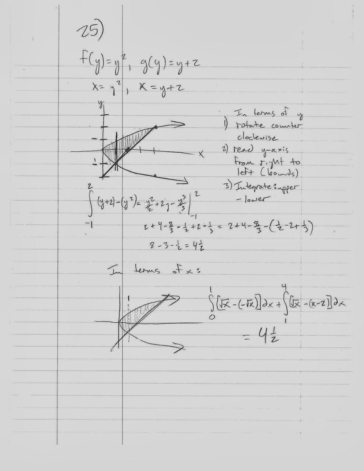 Ap calculus homework assignments