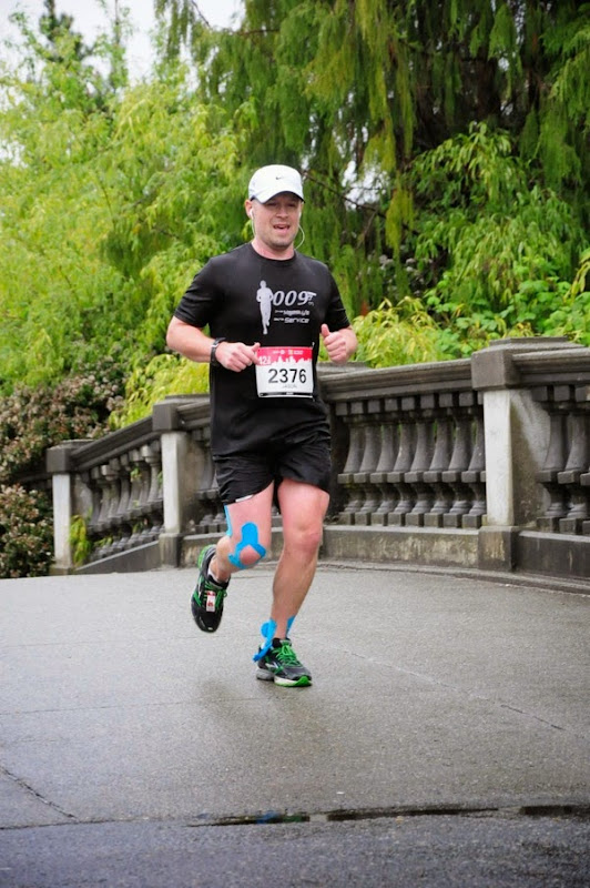 Running Devonian Harbour Park Vancouver Marathon 2014