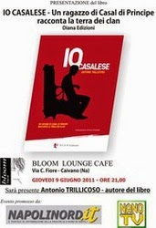 PRESENTAZIONE IO CASALESE AL BLOOM LOUNGE CAFE DI CAIVANO (NA)