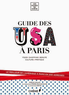 Book cover: Le Guide des USA à Paris