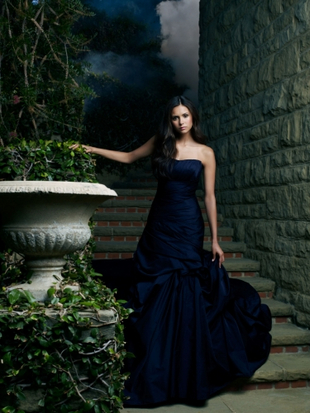 Nina Dobrev in Beautiful Gown - The Vampire Diaries