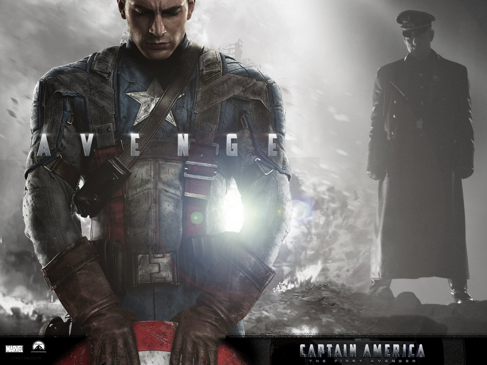 CAPTAIN AMERICA THE FIRST AVENGER 3D