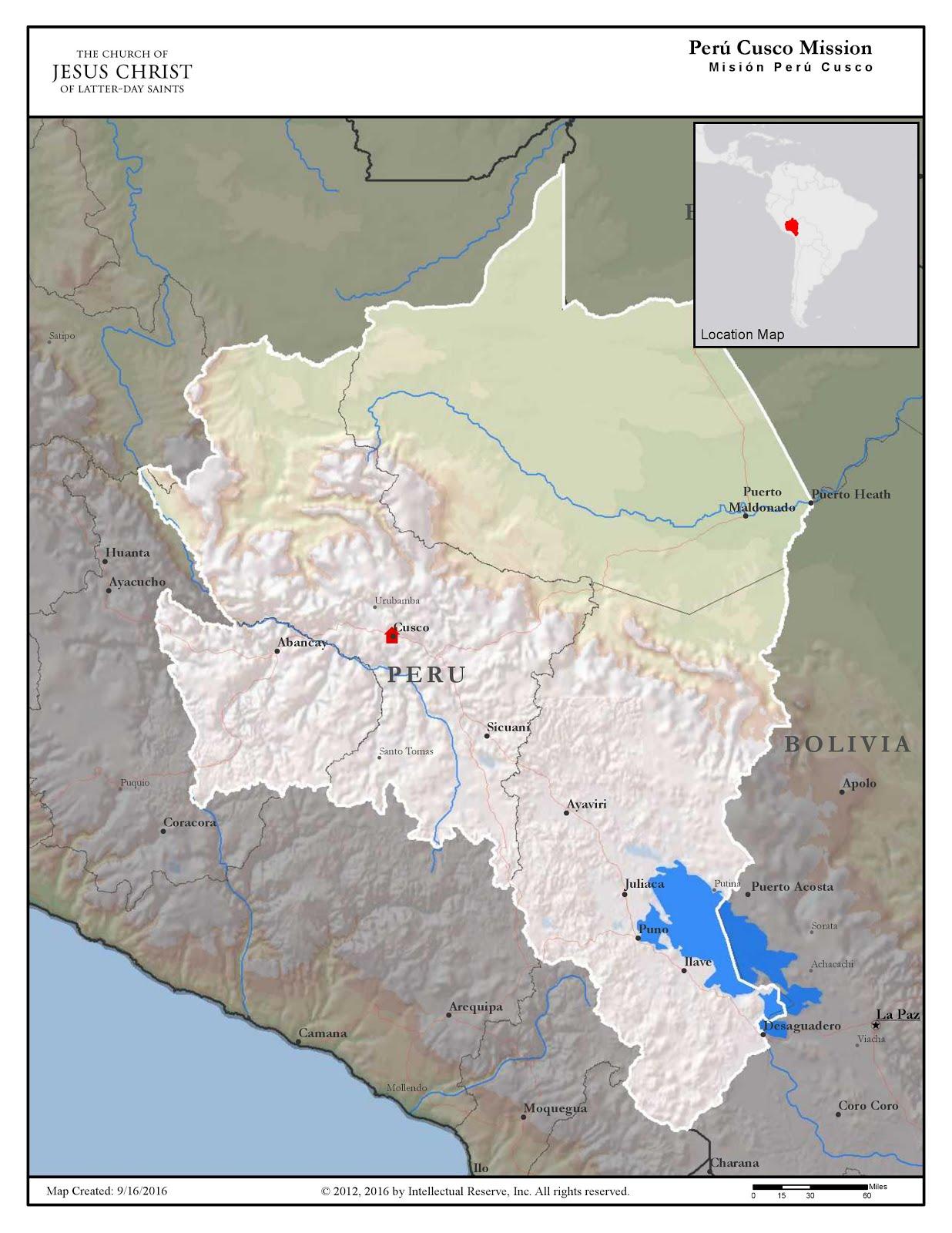 Mapa de la Mision