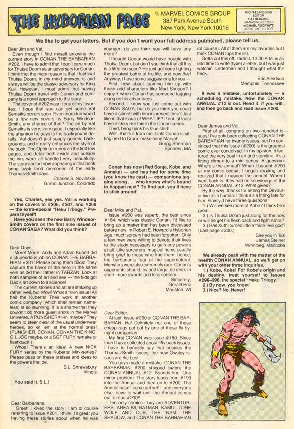 Conan the Barbarian (1970) Issue #205 #217 - English 24
