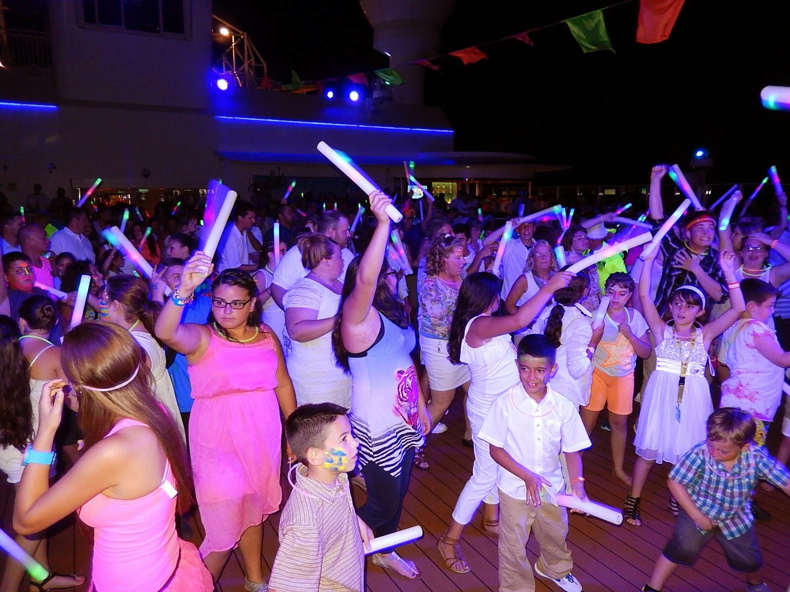 Save Pleasure Island Blog Glow Party On Norwegian Breakaway