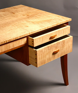 Fine Custom Desk Handmade Writing Desk