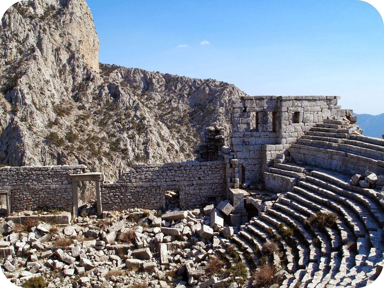 Ruins in Antalya, Turkey