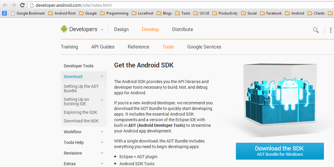 Install Android Development Environment - Android SDK