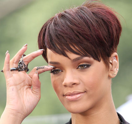 Rihanna Finger Tattoos