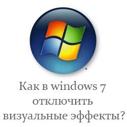 визуальные эффекты для windows 7