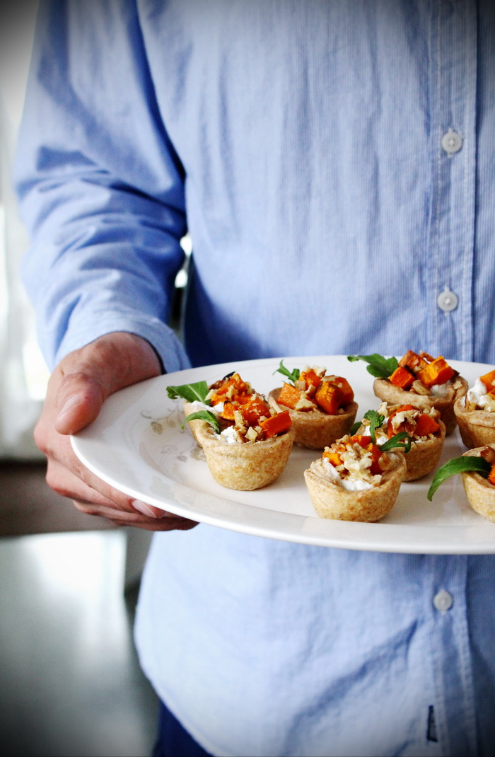 Savory Tarts Simple and elegant entree dough Recipe Sweet Potato Filling