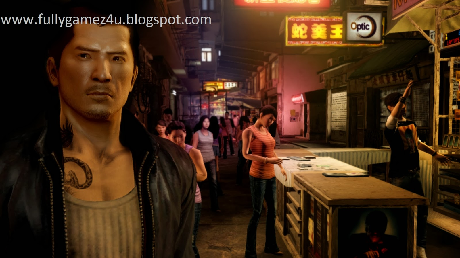 Download Sleeping dogs Game For Pc