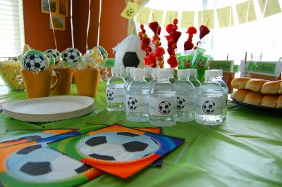 Sports Birthday Party Theme photo
