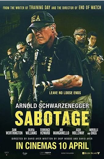 Download Movie Sabotage (2014) BluRay 720p | Subtitle Indonesia
