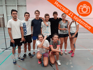 Championnat Badminton J1