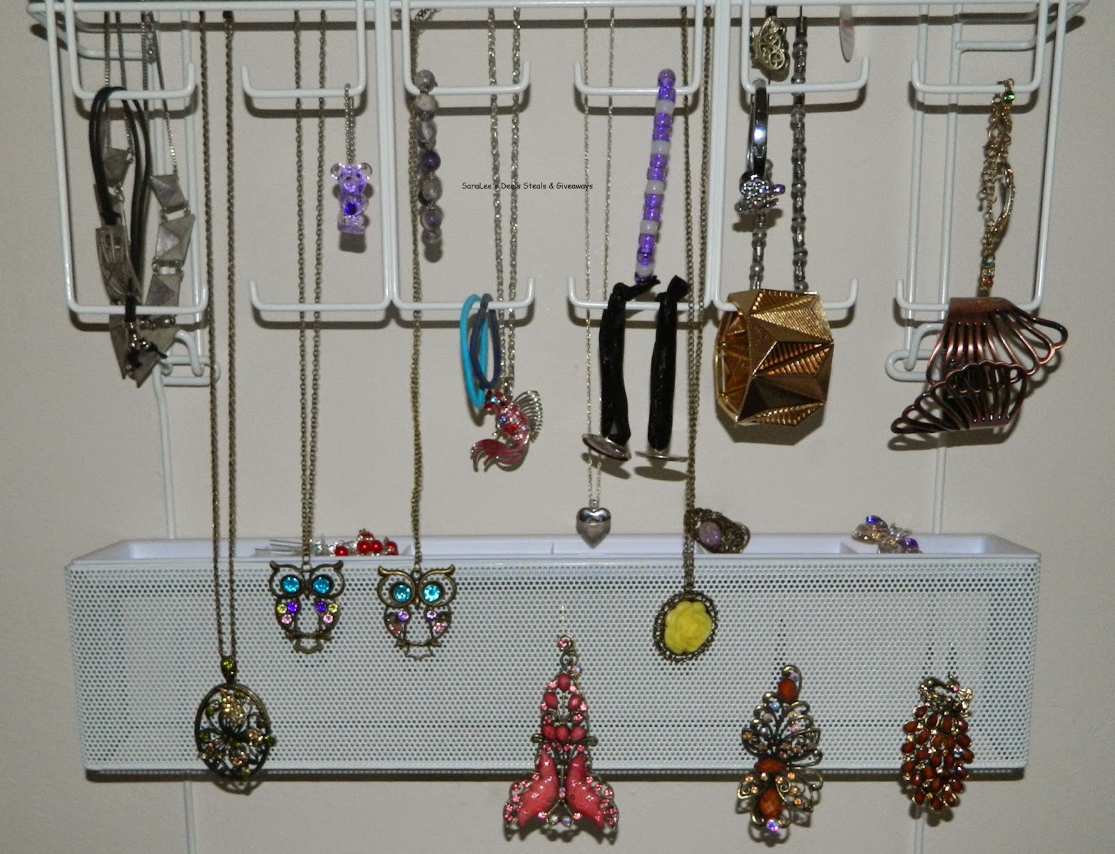 Enter the Jewelry Organizer Giveaway. Ends 6/15.