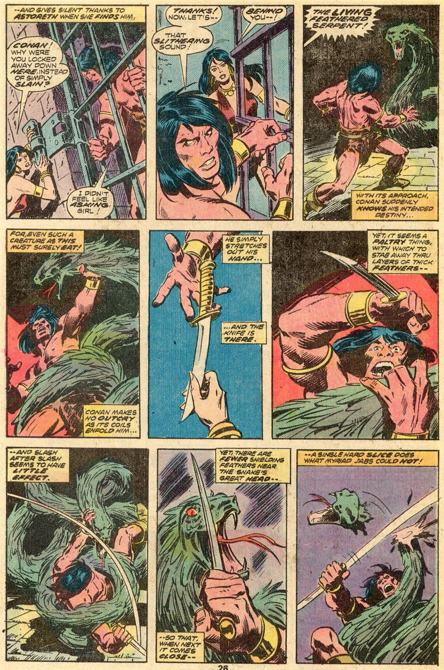 Conan the Barbarian (1970) Issue #65 #77 - English 15