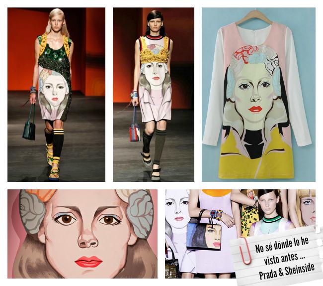 Clones moda primavera verano 2014 Prada