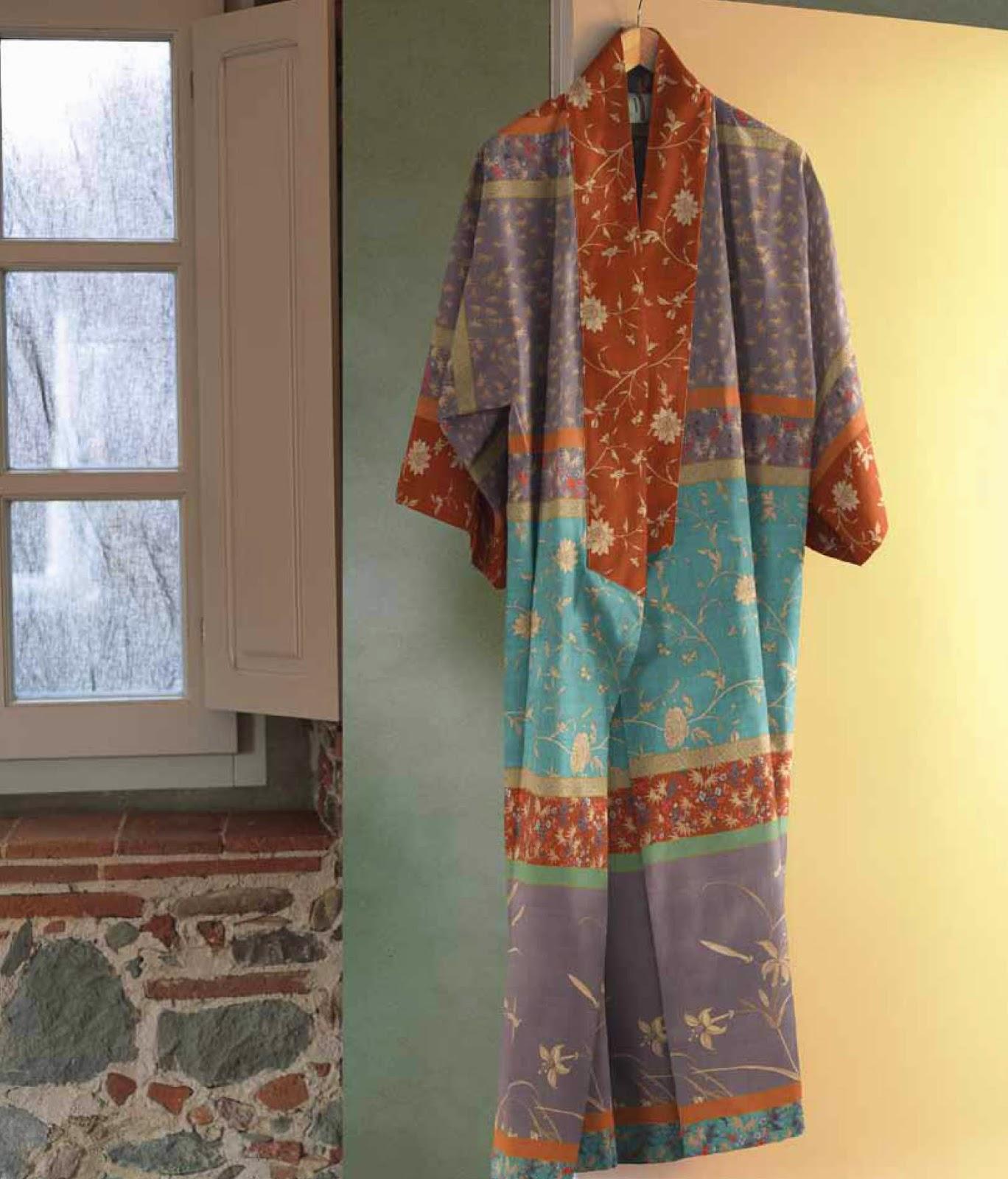 Doge Bassetti Granfoulard. Kimono