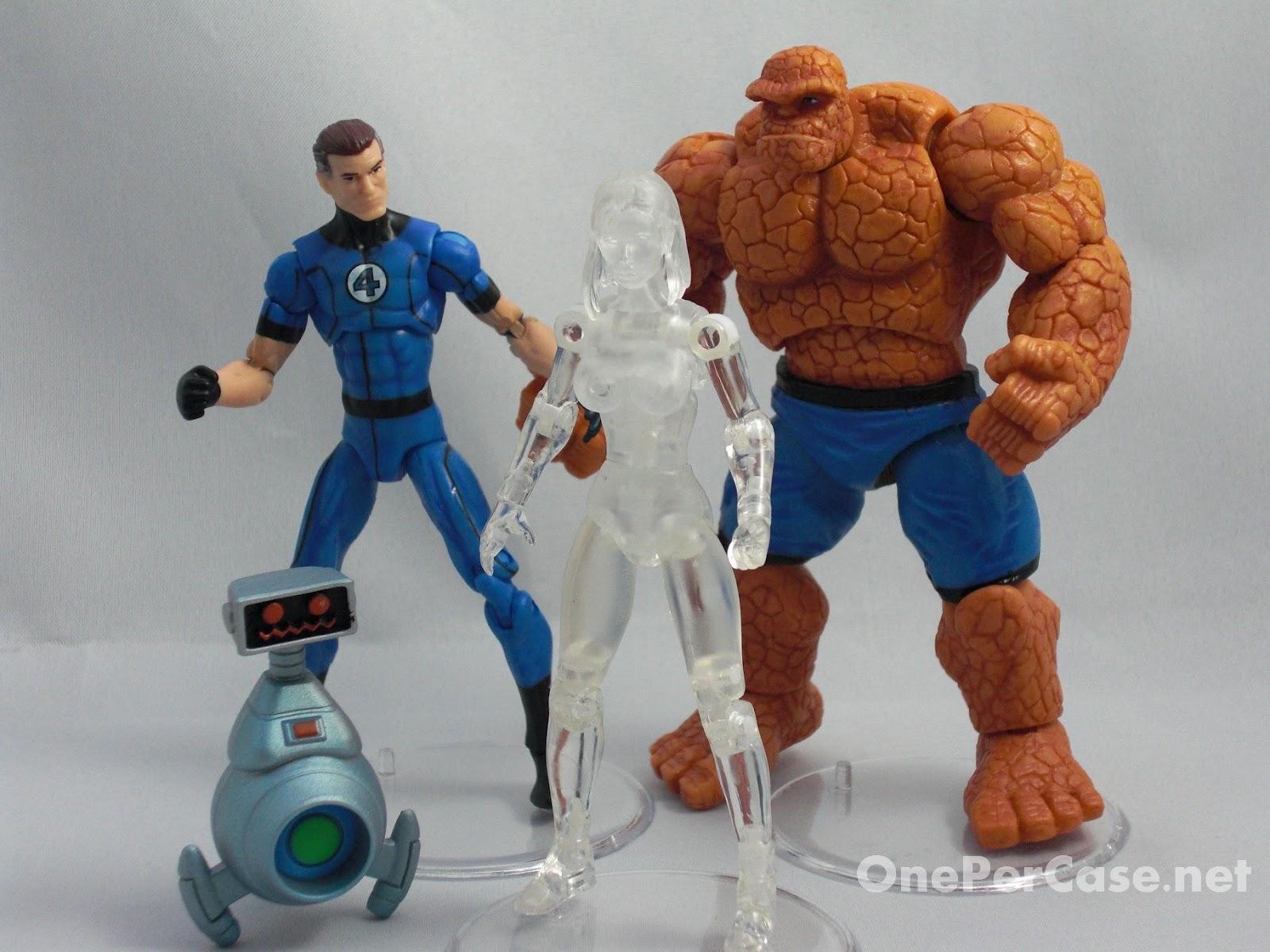 Marvel Universe Super Hero Team Packs Fantastic Four Hasbro 29139