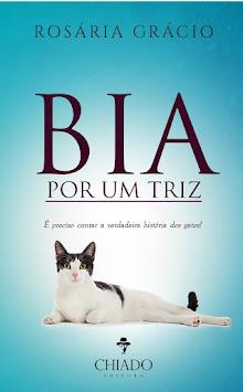 """Lançamento do livro """"BIA POR UM TRIZ"""""""