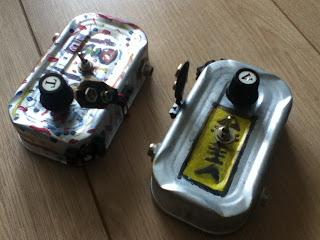 clone de colorsound dans une boite de sardine