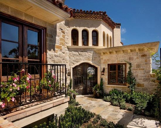 fachadas de casas mediterranea i