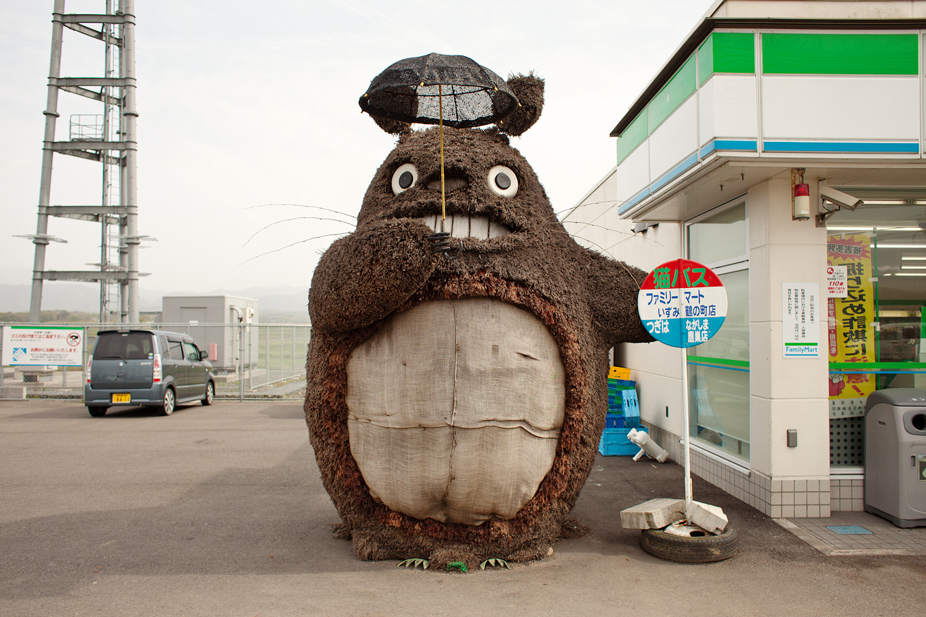 The Errant Cluster  A Big Giant Totoro 0e68623eb4