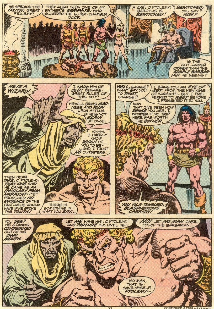 Conan the Barbarian (1970) Issue #80 #92 - English 14