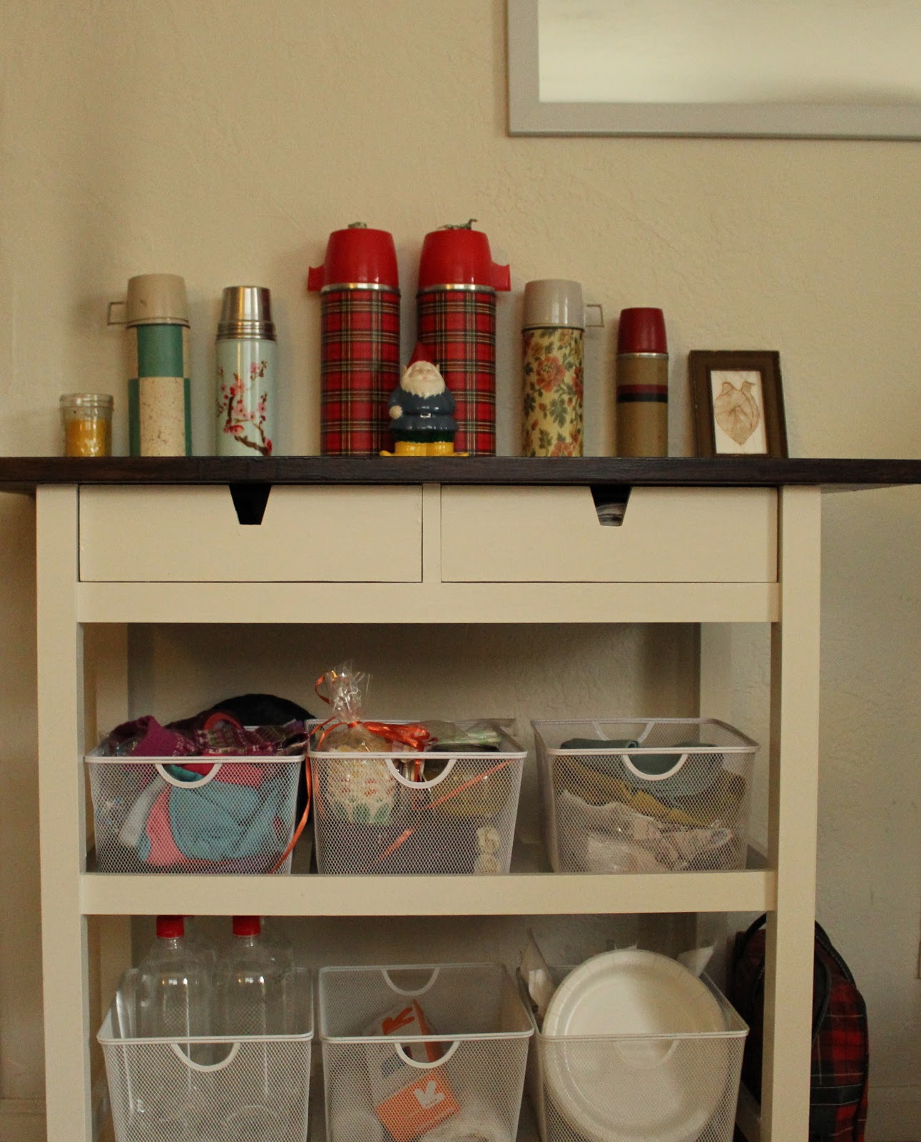 Good After: The FÖRHÖJA Kitchen Cart With My Personal Touch