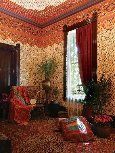 Victorian Orientalism Interior Design