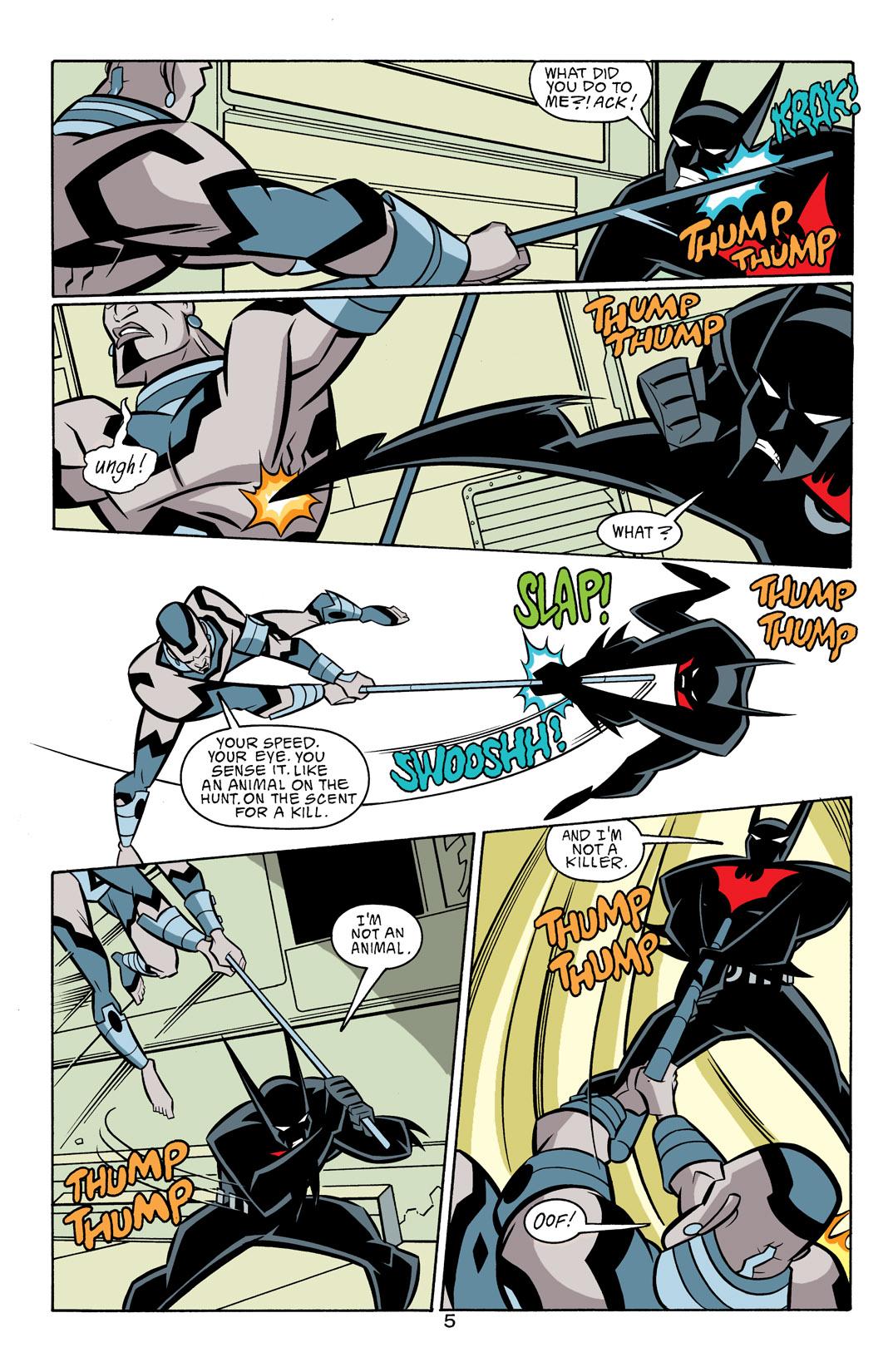 Batman Beyond [II] Issue #18 #18 - English 6