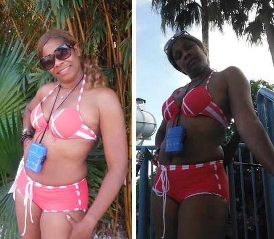 regina askia bikini body