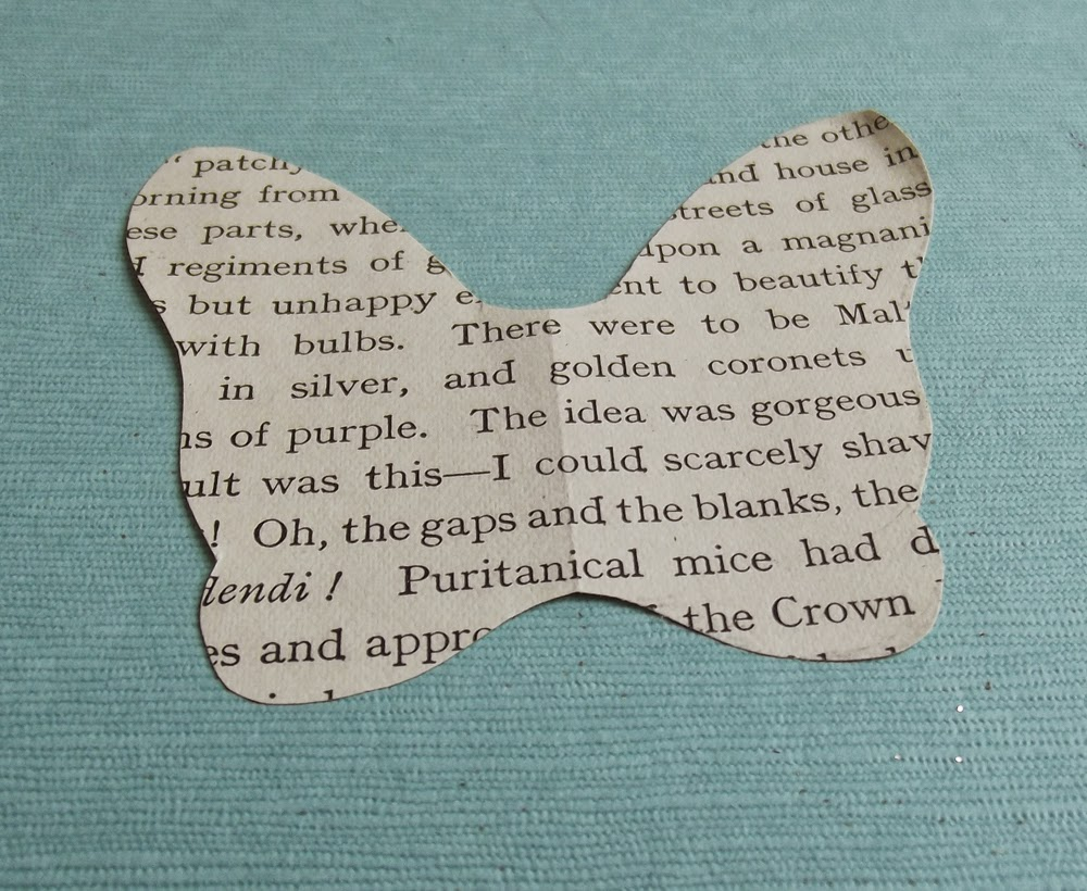 book page art craft diy fairy wings butterfly wings text  folded paper