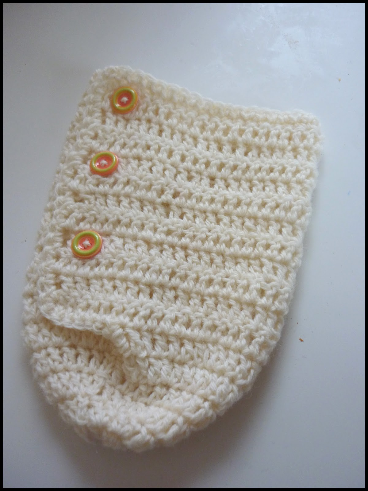 Free Newborn Wrap Crochet Pattern : Mamma That Makes: Snuggle Cuddle Cocoon Crochet Pattern