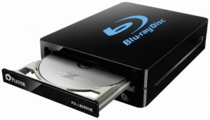 Plextor PX-LB950UE USB 3.0 and eSATA external Blu-ray burner