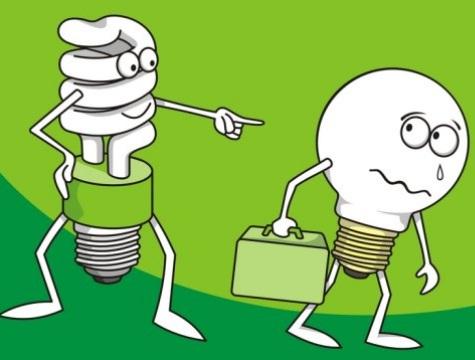 Zerezas curiosidadesvarias gasto energ tico de nuestros for Bombillas bajo consumo