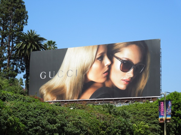 Gucci eyewear 2013 billboard