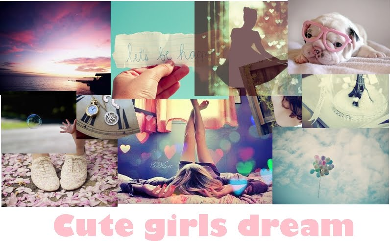 Cute girls dreams