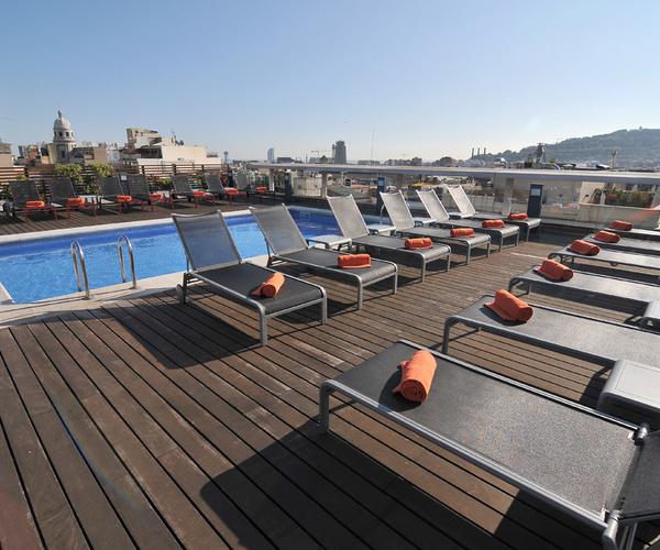 Bricolaje del agua las 5 mejores terrazas con piscina en hoteles espa oles - Hoteles con piscina en barcelona ...