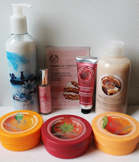 Achats The Body Shop