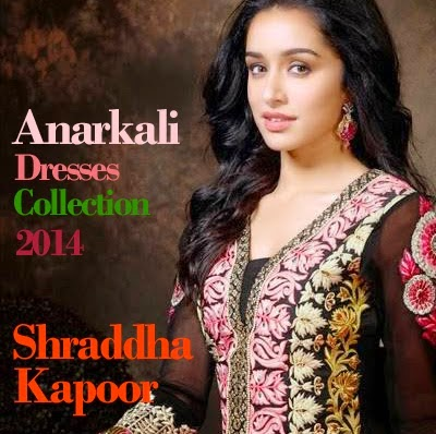 Latest Anarkali Dress Collection 2014