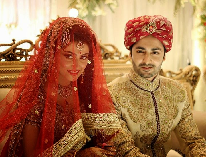Ayeza Khan & Danish Taimoor Wedding (Barat Pictures)
