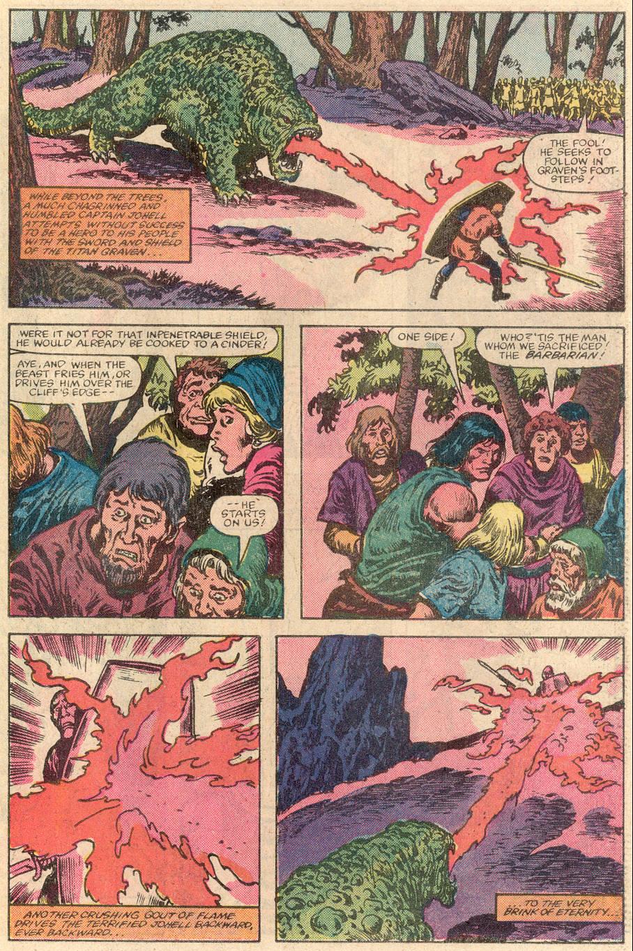 Conan the Barbarian (1970) Issue #144 #156 - English 20